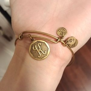 Alex and Ani letter K bracelet